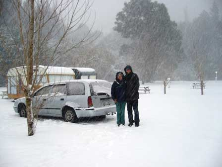 Barbara--Daniel-camped-in-the-snow
